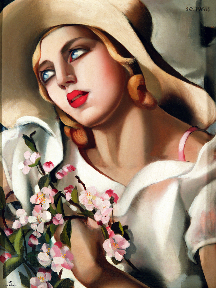 The Straw Hat - Tamara de Lempicka