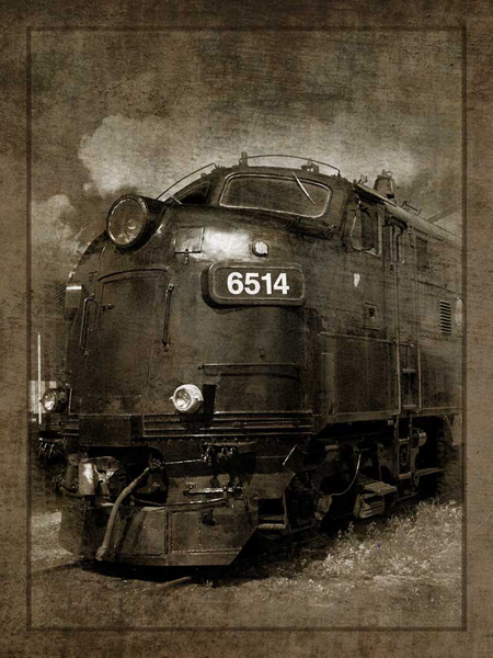 Diesel Electric Locomotive