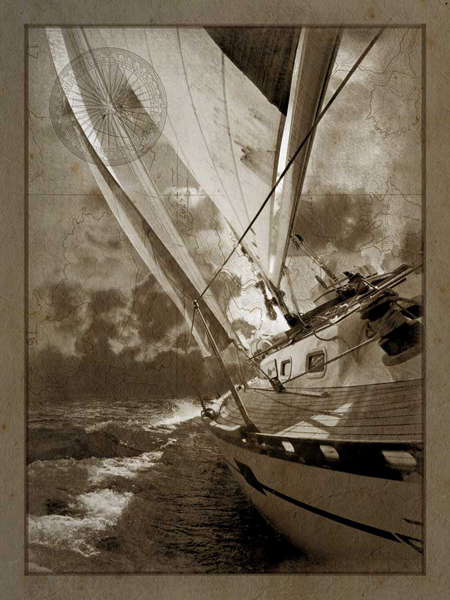 Sailing in Sepia A